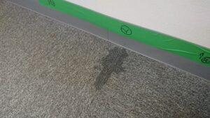 ALCと布基礎の取り合い部からの雨漏り!